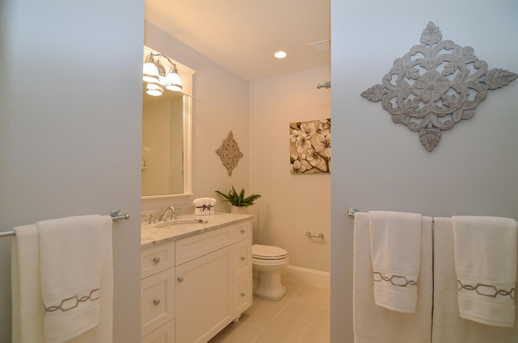 Full guest bathroom