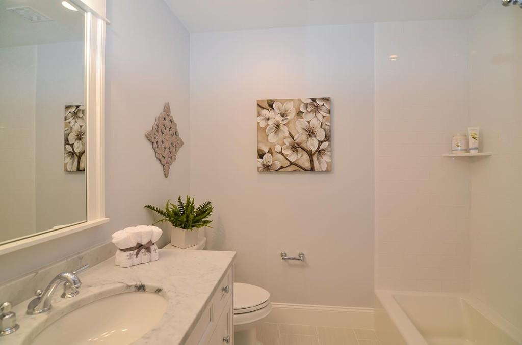 Guest bath Includes standard tub