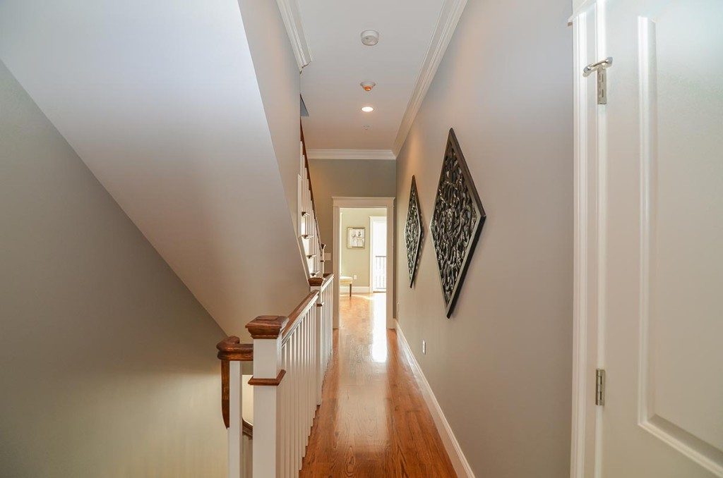 Wide airy hallway