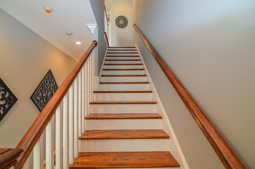 Stairs leading to the Great Room!
