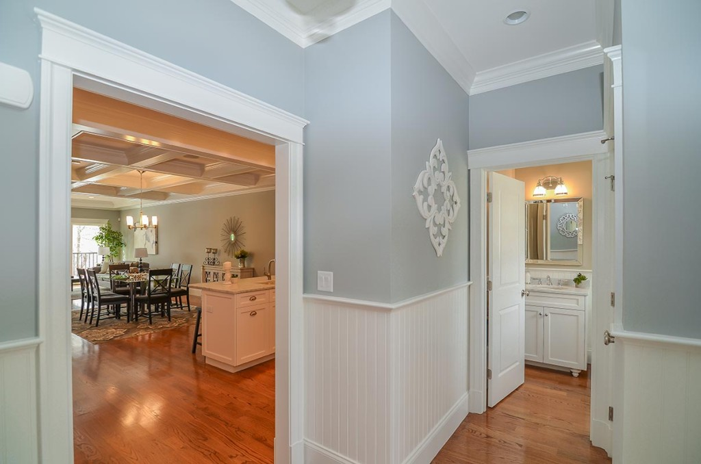 Foyer / Entryway - includes coat closet & Nantucket Beadboard