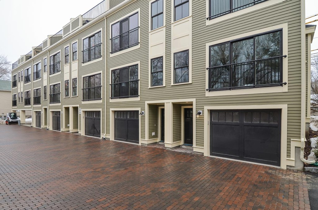 Each unit has either a 2 car garage or 2 covered spaces with one garage space
