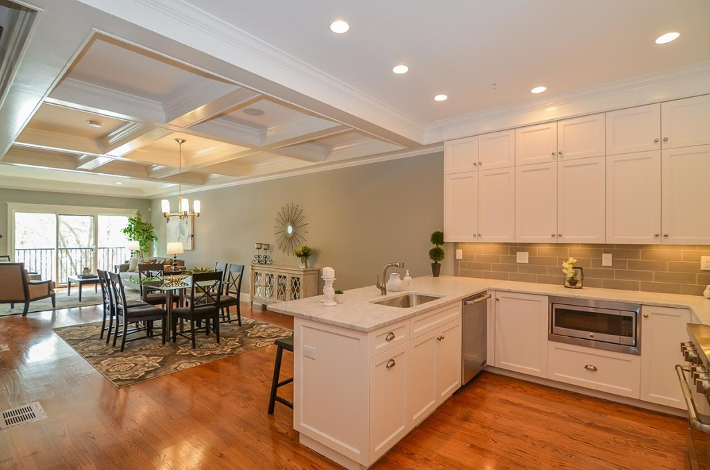 Custom cabinetry included